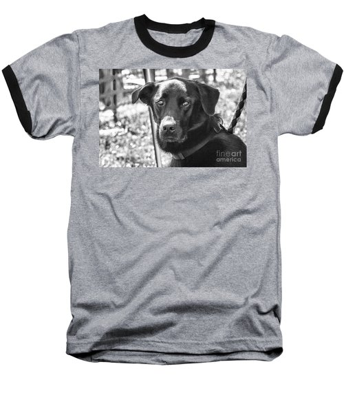 Baseball T-Shirt featuring the photograph Sad Eyes by Eunice Gibb