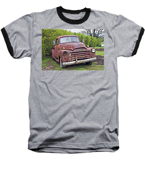 Sad Truck Baseball T-Shirt