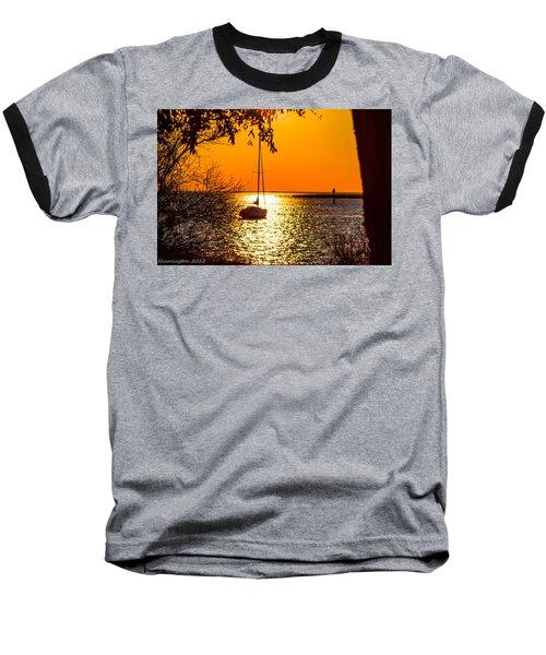 Baseball T-Shirt featuring the photograph Sail Away by Shannon Harrington