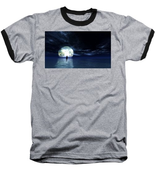 Sailing At Night... Baseball T-Shirt