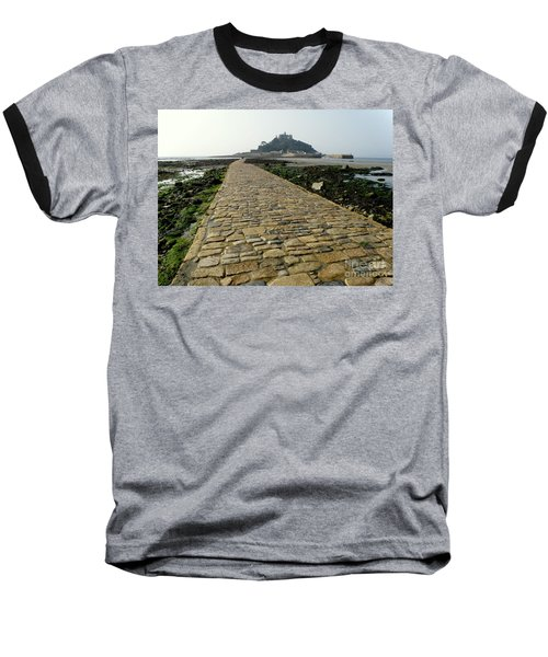 Baseball T-Shirt featuring the photograph Saint Michael's Mount by Lainie Wrightson