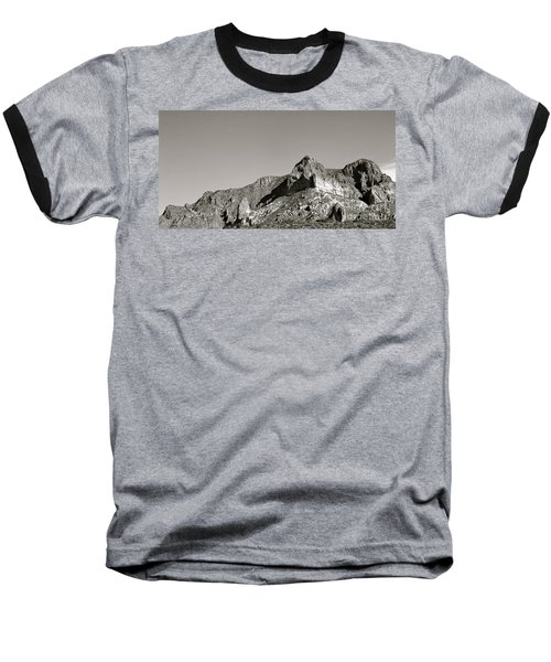 Salt River Black And White Baseball T-Shirt