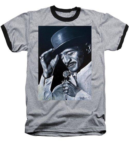 Sammy Davis Jr Baseball T-Shirt