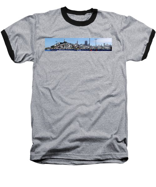 San Francisco Panorama Baseball T-Shirt