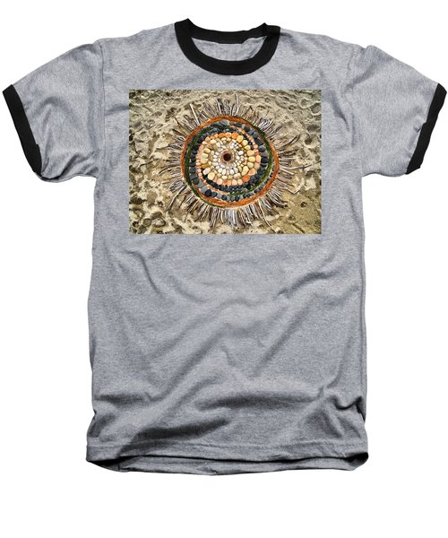 Sand Art Baseball T-Shirt