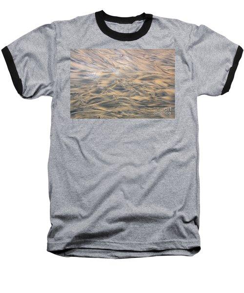Baseball T-Shirt featuring the photograph Sand Patterns by Nareeta Martin