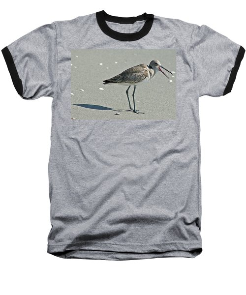 Sandpiper 4 Baseball T-Shirt by Joe Faherty