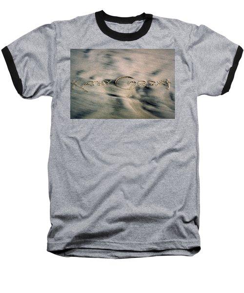 Sandscript Baseball T-Shirt