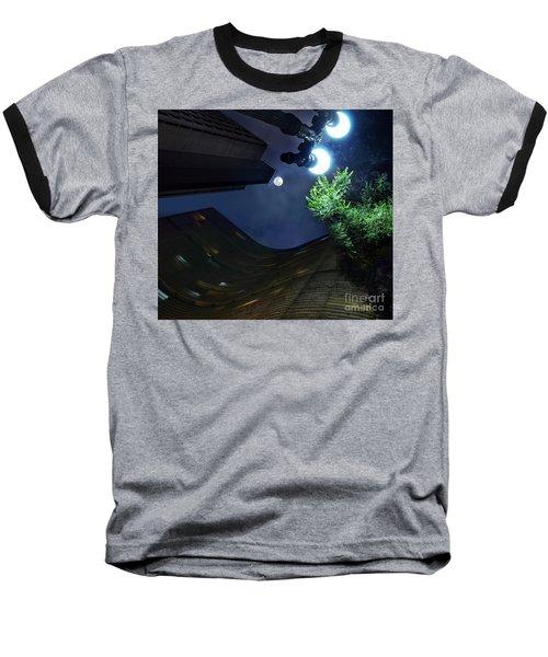 Copan Building And The Moonlight Baseball T-Shirt