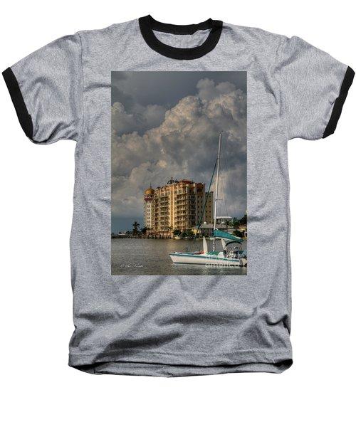 Sarasota Harbor View Baseball T-Shirt