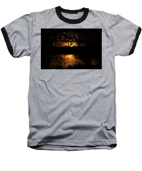 Scary Sunset Baseball T-Shirt