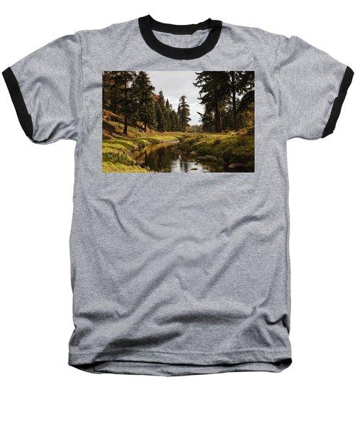 Scenic River, Northumberland, England Baseball T-Shirt