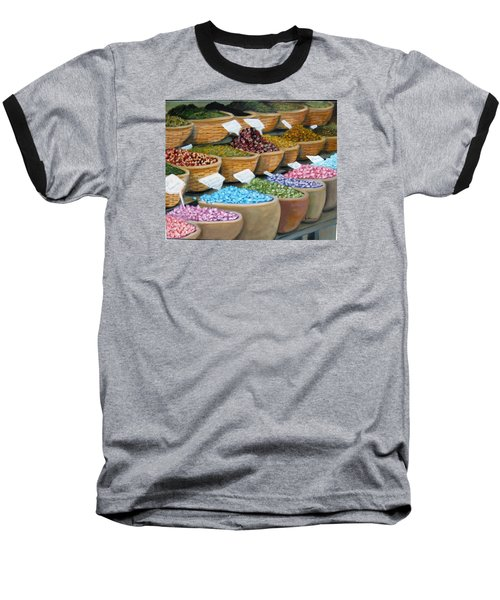 Scents For The Senses Baseball T-Shirt by Laurie Morgan