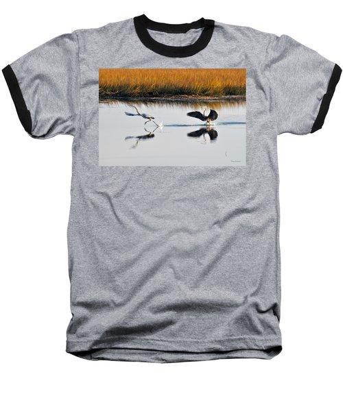 Scram Baseball T-Shirt by Kay Lovingood