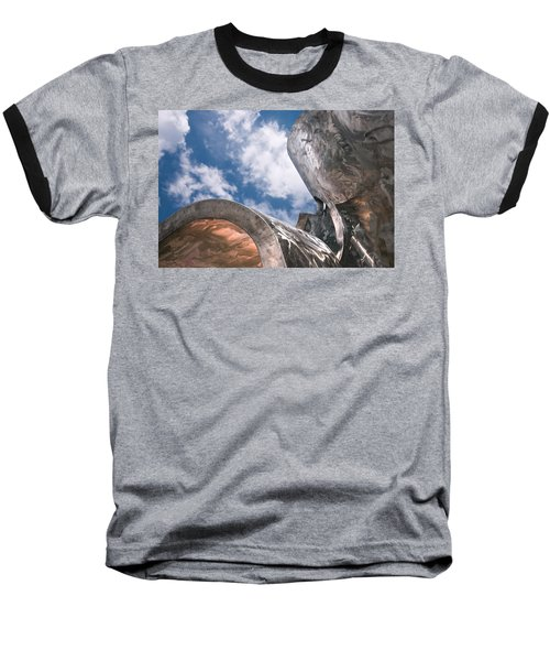 Sculpture And Sky Baseball T-Shirt