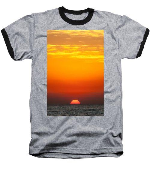 Sea Sunrise Baseball T-Shirt
