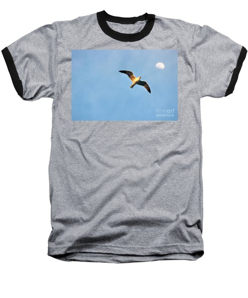 Baseball T-Shirt featuring the photograph Seagull by Luciano Mortula