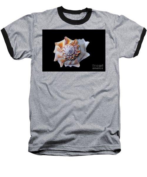 Baseball T-Shirt featuring the photograph Seashell 1 by Deniece Platt