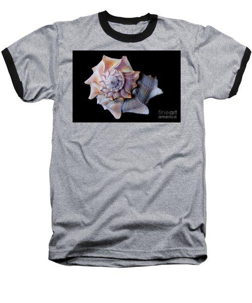 Baseball T-Shirt featuring the photograph Seashell 5 by Deniece Platt