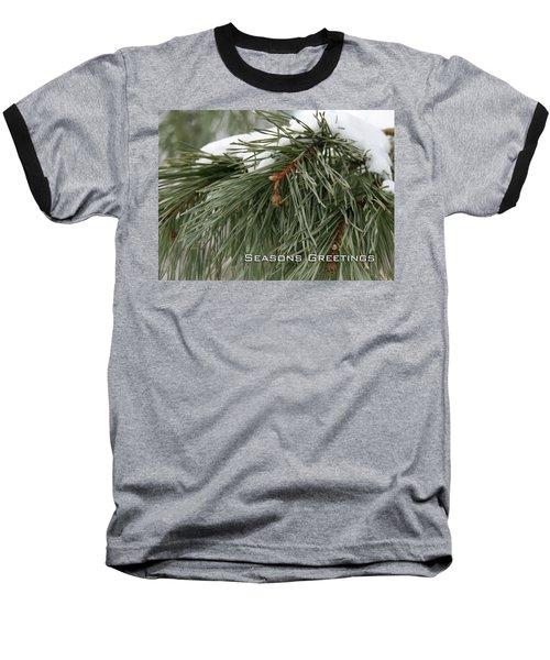 Seasons Greetings Baseball T-Shirt