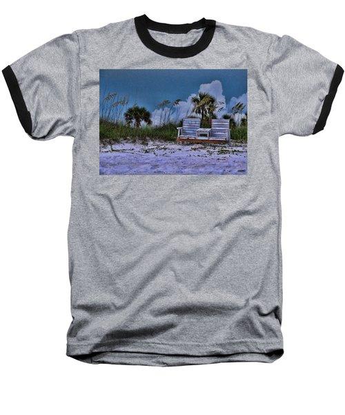 Seat On The Dunes Baseball T-Shirt