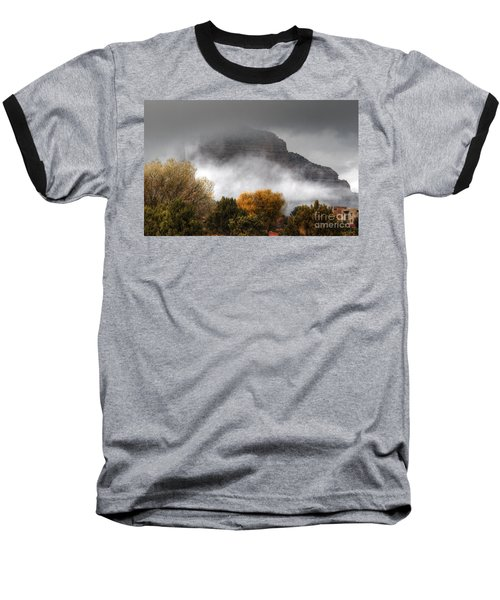 Sedona Fog Baseball T-Shirt