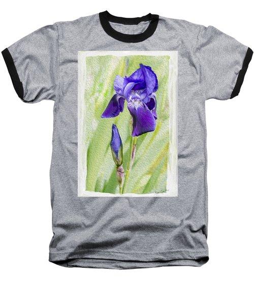 Seeing Purple Baseball T-Shirt