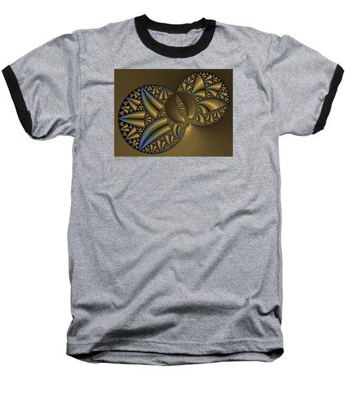Baseball T-Shirt featuring the digital art Senza Fine by Manny Lorenzo