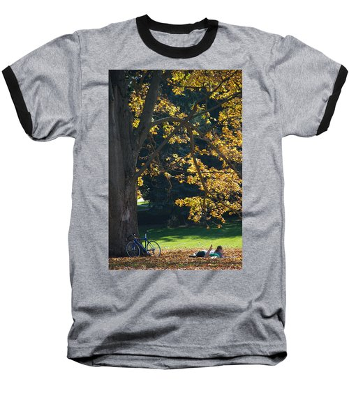 Baseball T-Shirt featuring the photograph September Dreams by Joseph Yarbrough