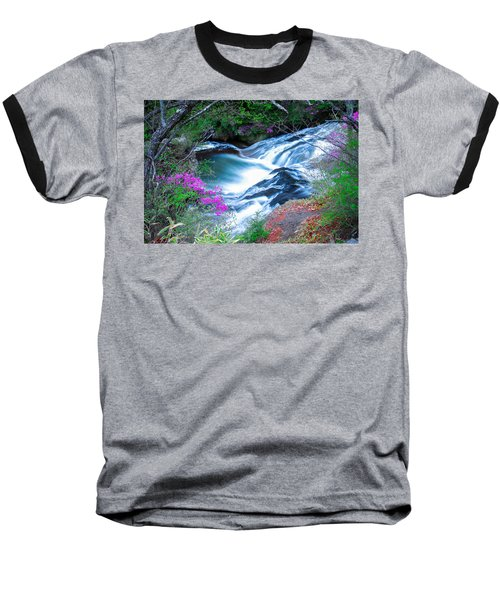 Serenity Flowing Baseball T-Shirt