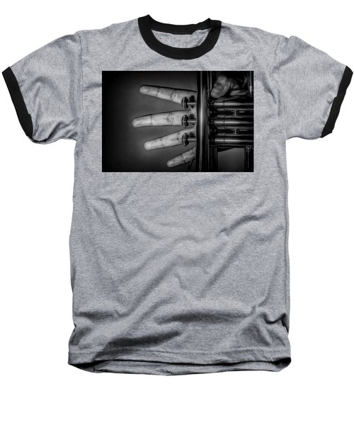 Baseball T-Shirt featuring the photograph Sforzando by Tom Gort