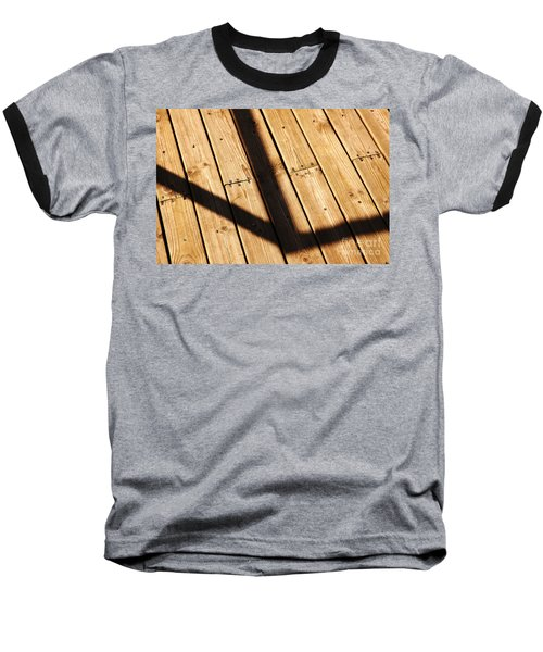 Shaded Walkway Floor Baseball T-Shirt