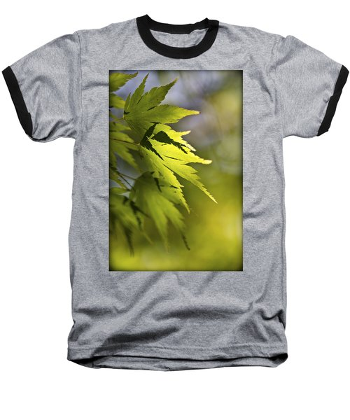 Baseball T-Shirt featuring the photograph Shades Of Green And Gold. by Clare Bambers