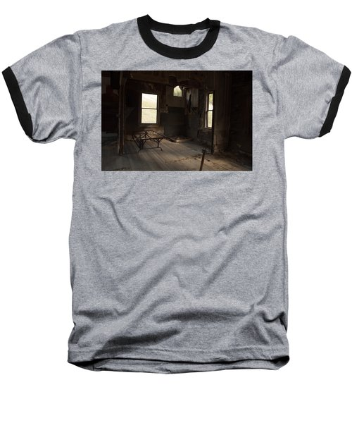 Baseball T-Shirt featuring the photograph Shadows Of Time by Fran Riley