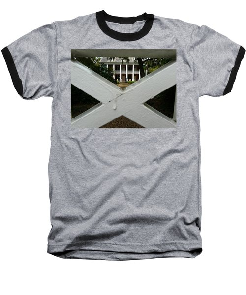 Shadows X On The Teche  Baseball T-Shirt