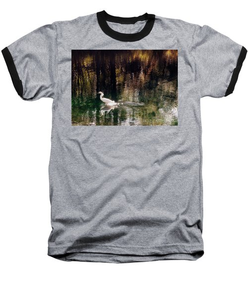 Baseball T-Shirt featuring the photograph Shadowwaters by Lydia Holly