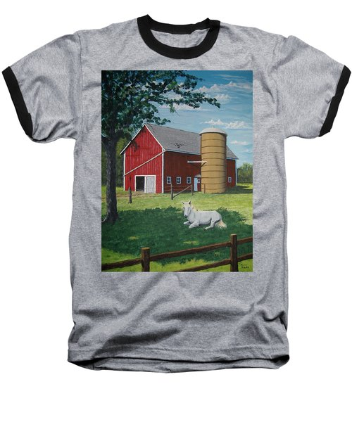 Shady Rest Baseball T-Shirt by Norm Starks