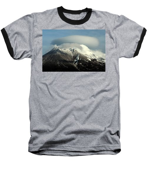 Shasta Lenticular 2 Baseball T-Shirt