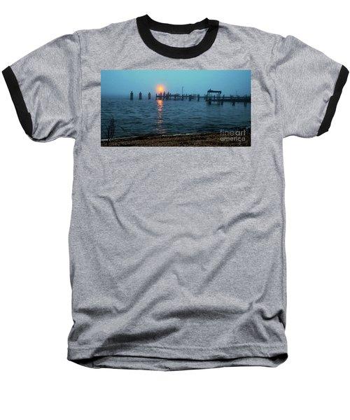 Shhh Listen Baseball T-Shirt by Clayton Bruster
