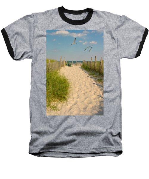 Shore Is Beautiful Baseball T-Shirt