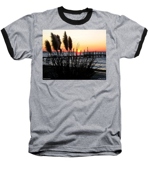 Shoreline Serenity Baseball T-Shirt