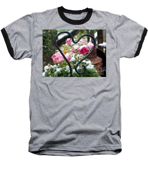 Shot Through The Heart Baseball T-Shirt