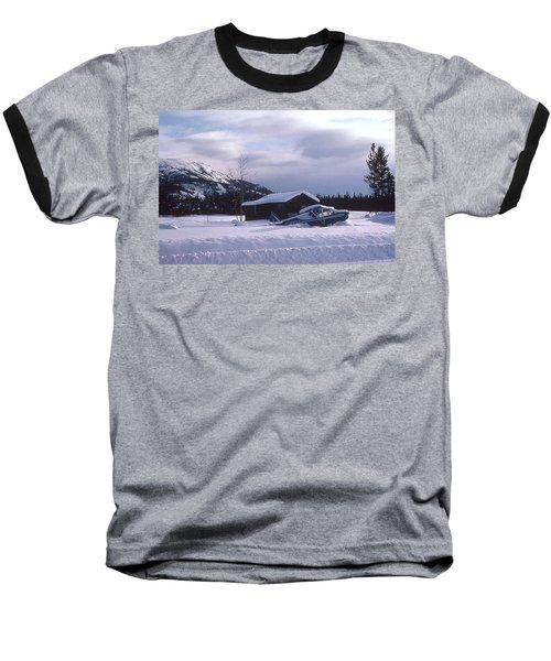 Anyone Got A Shovel? Baseball T-Shirt by Mark Alan Perry