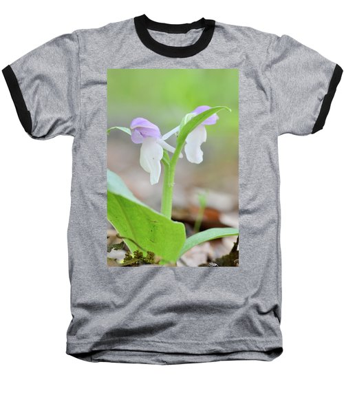 Showy Orchis Baseball T-Shirt
