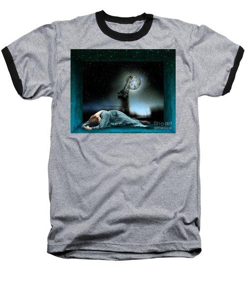 Shrine Of Dreams Baseball T-Shirt by Rosa Cobos