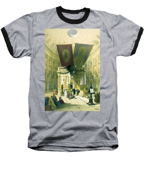 Shrine Of The Holy Sepulchre April 10th 1839 Baseball T-Shirt