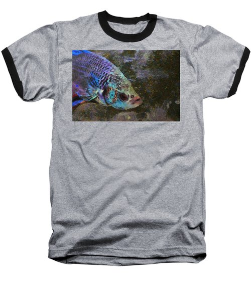 Siamese Fighting Fish Baseball T-Shirt