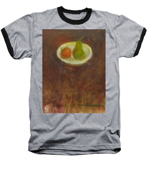 Baseball T-Shirt featuring the painting Side By Side by Kathleen Grace
