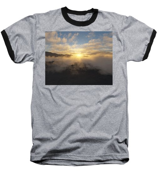 Sierra Sunrise Baseball T-Shirt by Mark Greenberg