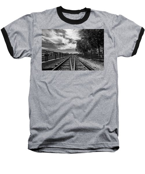 Silent Spur Baseball T-Shirt by Tom Gort